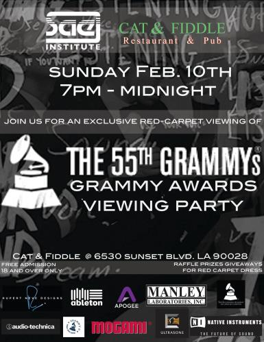 Grammy Viewing Party